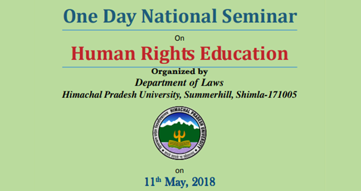 One Day National Seminar On Human Rights Education