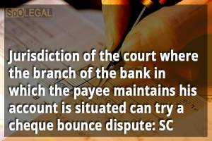 Jurisdiction of the court where the branch…