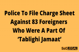 Police to file charge sheet against 83 foreigners…